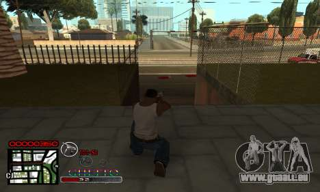 C-HUD Getto Jonka pour GTA San Andreas deuxième écran