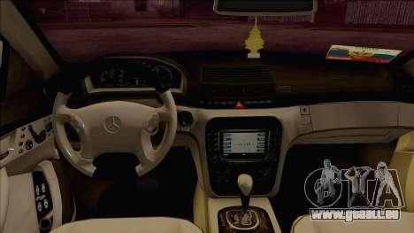 Mercedes-Benz W220 S500 4matic für GTA San Andreas rechten Ansicht