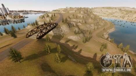 Cliffside emplacement Rallye pour GTA 4 dixièmes d'écran