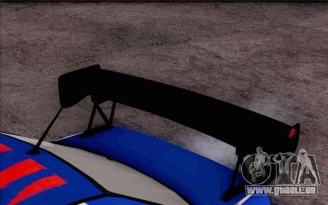 Mitsubishi Lancer Evolution IIIX für GTA San Andreas zurück linke Ansicht
