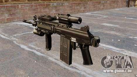 Fusil automatique tactique Galil pour GTA 4 secondes d'écran