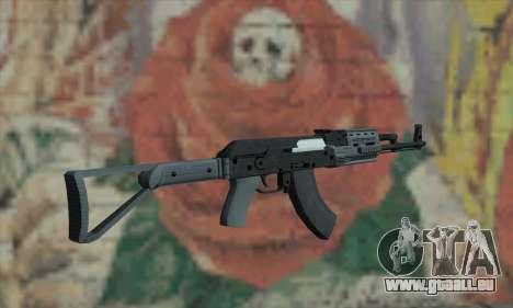L'AK47 de GTA V pour GTA San Andreas deuxième écran