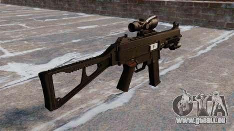 Maschinenpistole UMP45 für GTA 4 Sekunden Bildschirm