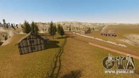 Cliffside emplacement Rallye pour GTA 4 huitième écran