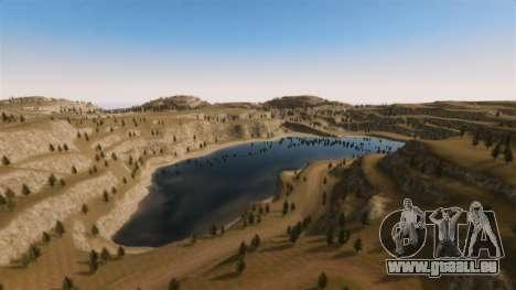 Cliffside emplacement Rallye pour GTA 4 onzième écran