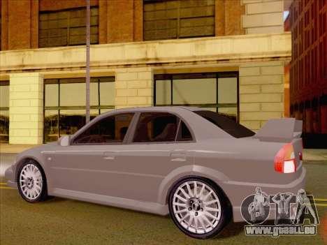 Mitsubishi Lancer Evolution VI LE für GTA San Andreas rechten Ansicht