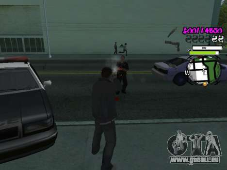HUD pour GTA San Andreas cinquième écran