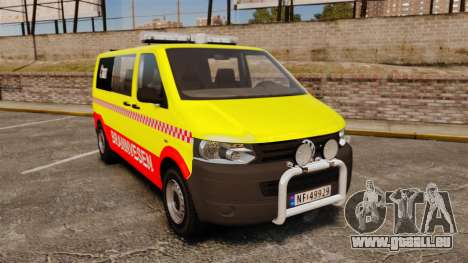 Volkswagen Transporter T5 2010 [ELS] pour GTA 4