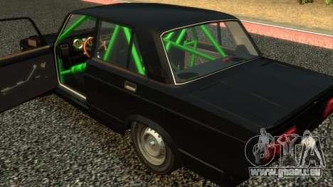VAZ 2105 pour GTA 4 Vue arrière