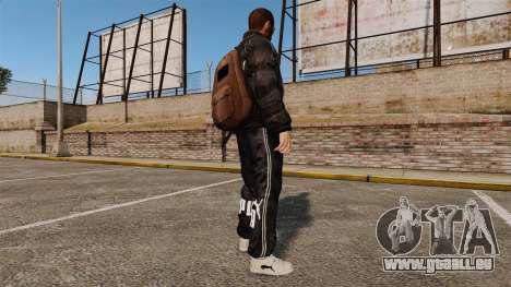 Vêtements Puma pour GTA 4 troisième écran
