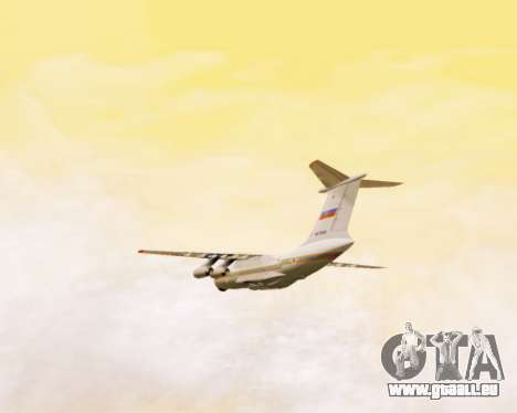 Il-76td EMERCOM de Russie pour GTA San Andreas vue de côté