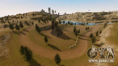 Cliffside emplacement Rallye pour GTA 4 secondes d'écran