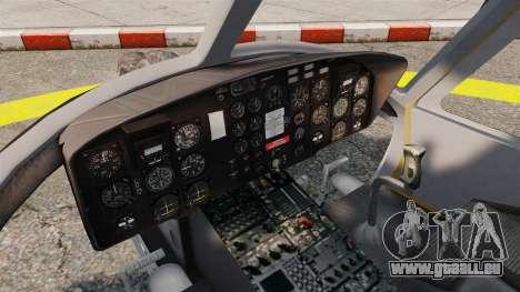 Bell UH-1 Iroquois v2.0 Gunship [EPM] für GTA 4 Rückansicht