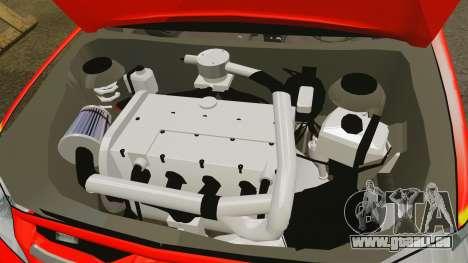 Toyota Hilux London Fire Brigade [ELS] pour GTA 4 est une vue de l'intérieur