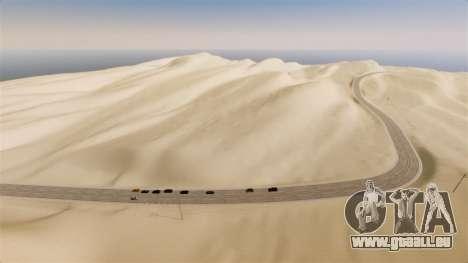Lage von Desert Highway für GTA 4 Sekunden Bildschirm