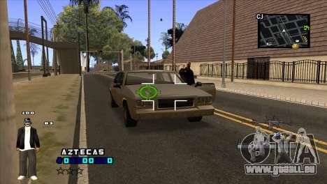 C-HUD Aztecaz für GTA San Andreas dritten Screenshot