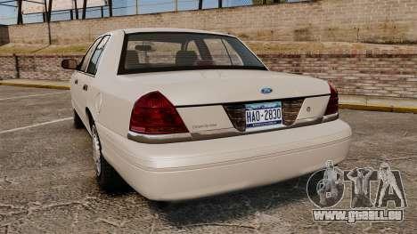 Ford Crown Victoria 1998 v1.1 pour GTA 4 Vue arrière de la gauche