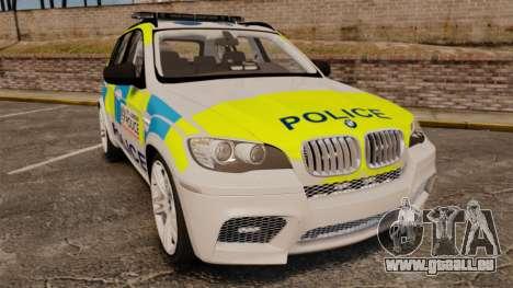 BMW X5 Police [ELS] für GTA 4
