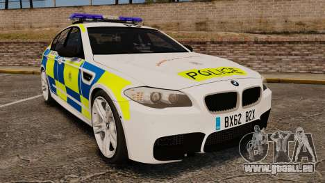 BMW M5 Marked Police [ELS] für GTA 4