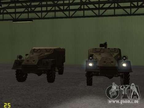 BTR-40 für GTA San Andreas Motor