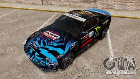 Ford Mustang GT 2013 NFS Edition pour GTA 4 vue de dessus