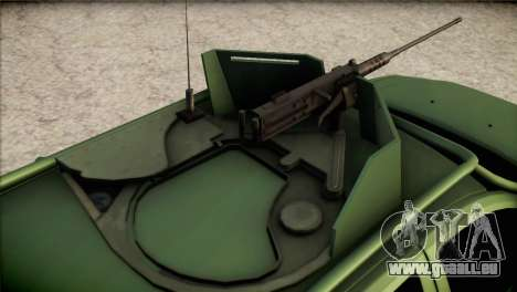 Dacia Duster Army Skin 1 pour GTA San Andreas vue arrière