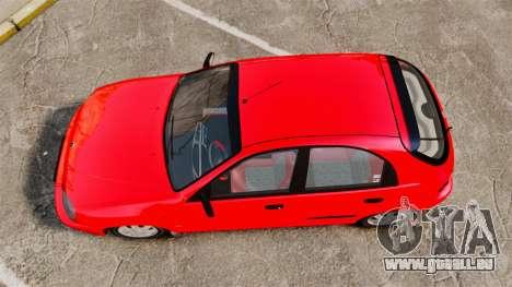 FSO Lanos Plus 2007 Limited Version pour GTA 4 est un droit