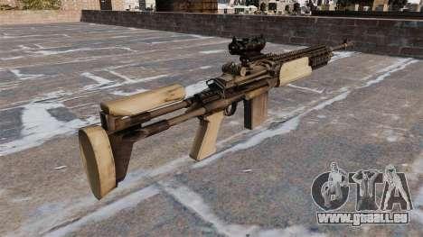Fusil automatique Mk 14 Mod 0 EBR pour GTA 4 secondes d'écran