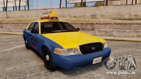 Ford Crown Victoria 1999 GTA V Taxi für GTA 4