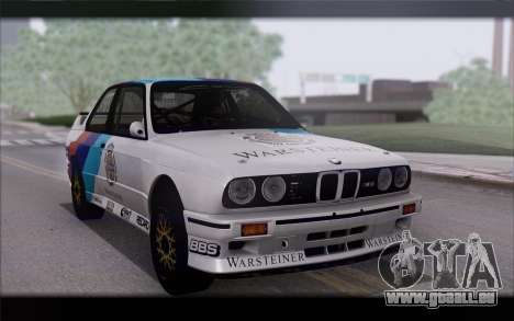 BMW M3 E30 Racing Version für GTA San Andreas