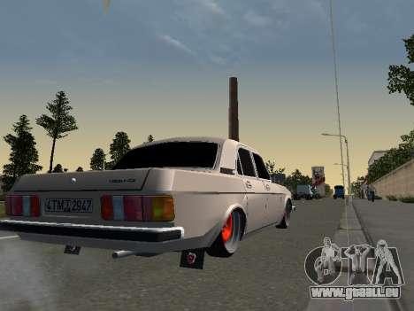 GAZ 3102 Stance pour GTA San Andreas laissé vue