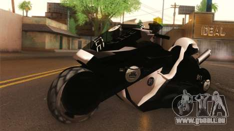CopBike Alien City für GTA San Andreas