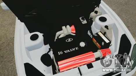 VAZ-2170 Lada Priora Turbo für GTA 4 Innenansicht