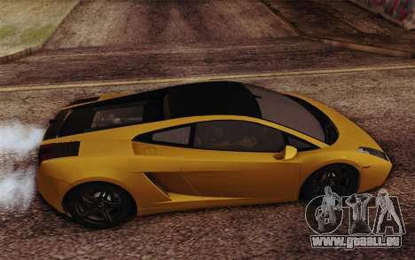 Lamborghini Gallardo SE pour GTA San Andreas vue arrière