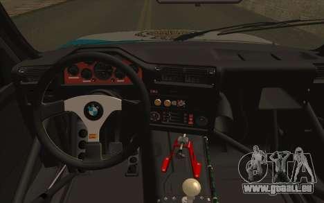 BMW M3 E30 Racing Version für GTA San Andreas rechten Ansicht