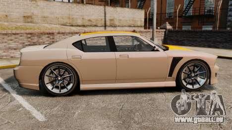 GTA V Bravado Buffalo Supercharged pour GTA 4 est une gauche