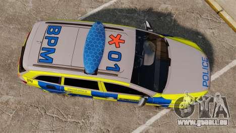 Audi Q7 Metropolitan Police [ELS] pour GTA 4 est un droit