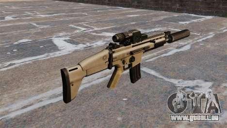 FN SCAR Sturmgewehr für GTA 4 Sekunden Bildschirm