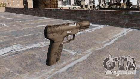 Pistolet Self-loading FN Five-seveN pour GTA 4 secondes d'écran