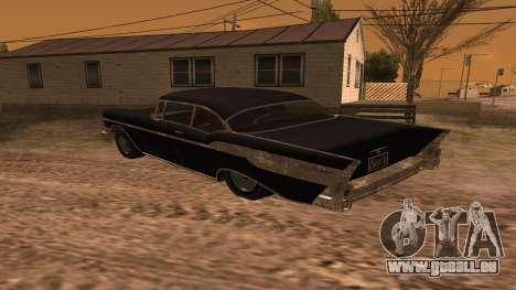 Tornado GTA 5 für GTA San Andreas linke Ansicht