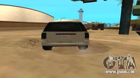 Baller GTA 5 pour GTA San Andreas vue de droite