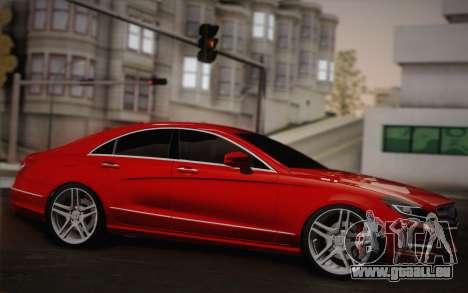 Mercedes-Benz CLS 63 AMG 2012 Fixed für GTA San Andreas Innenansicht