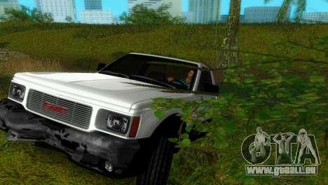 GMC Cyclone 1992 pour GTA Vice City vue latérale