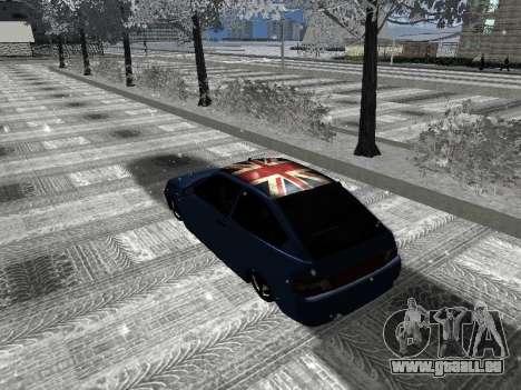 VAZ 21123 pour GTA San Andreas sur la vue arrière gauche