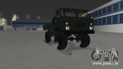 GAZ 66 pour une vue GTA Vice City de la droite