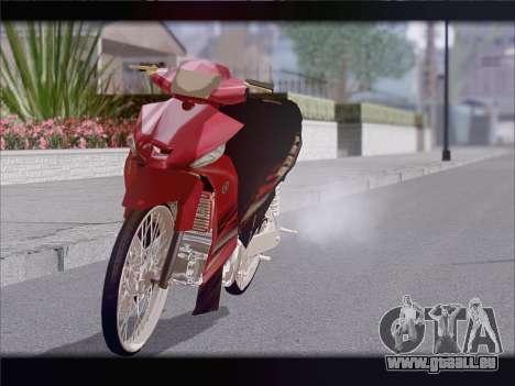 Yamaha Vega ZR pour GTA San Andreas vue de droite