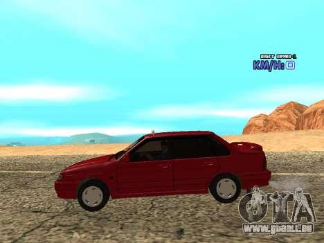 VAZ 2115 Taxi pour GTA San Andreas laissé vue
