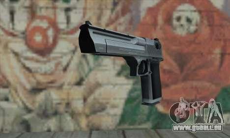 Desert Eagle Silver pour GTA San Andreas