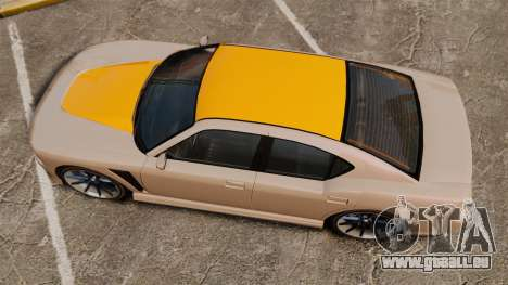 GTA V Bravado Buffalo Supercharged für GTA 4 rechte Ansicht