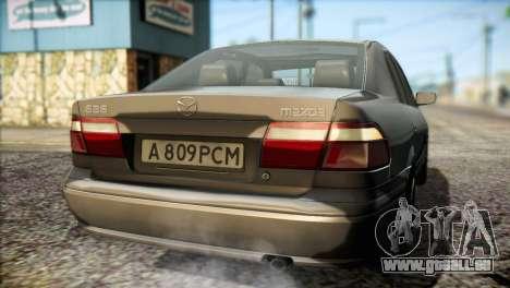 Mazda 626 pour GTA San Andreas vue de côté